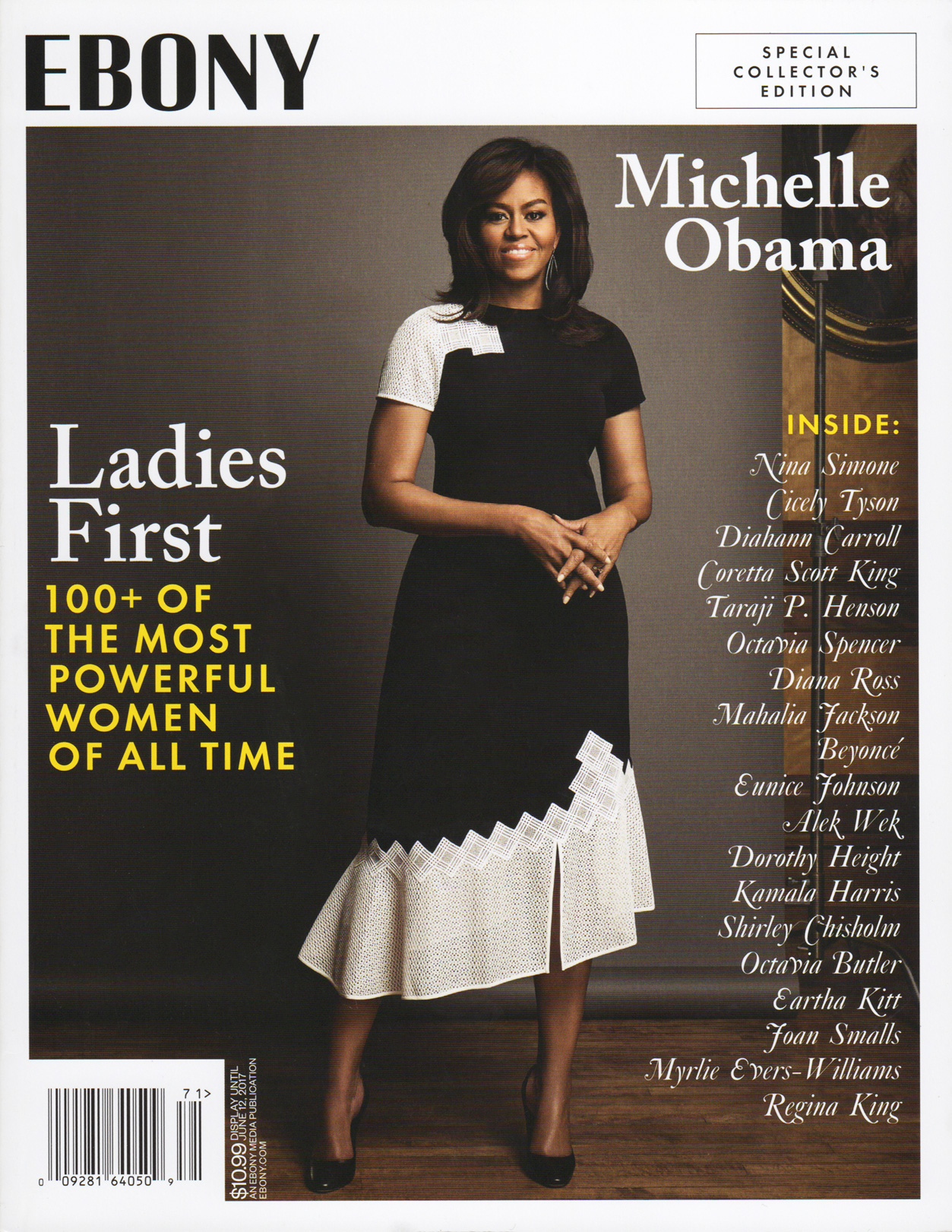 Ebony cover - 100+ Powerful Women
