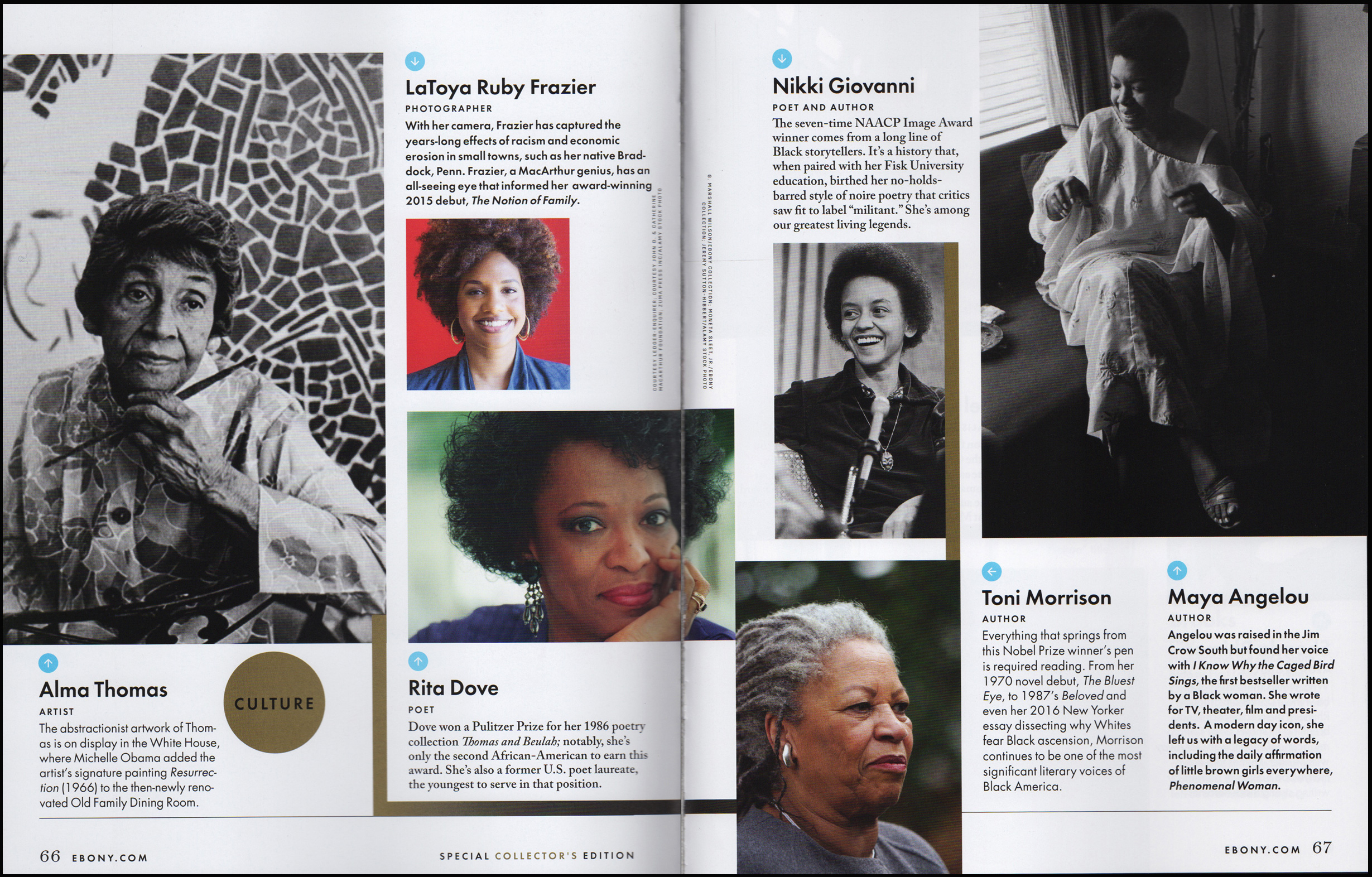 Ebony 100+ Powerful Women