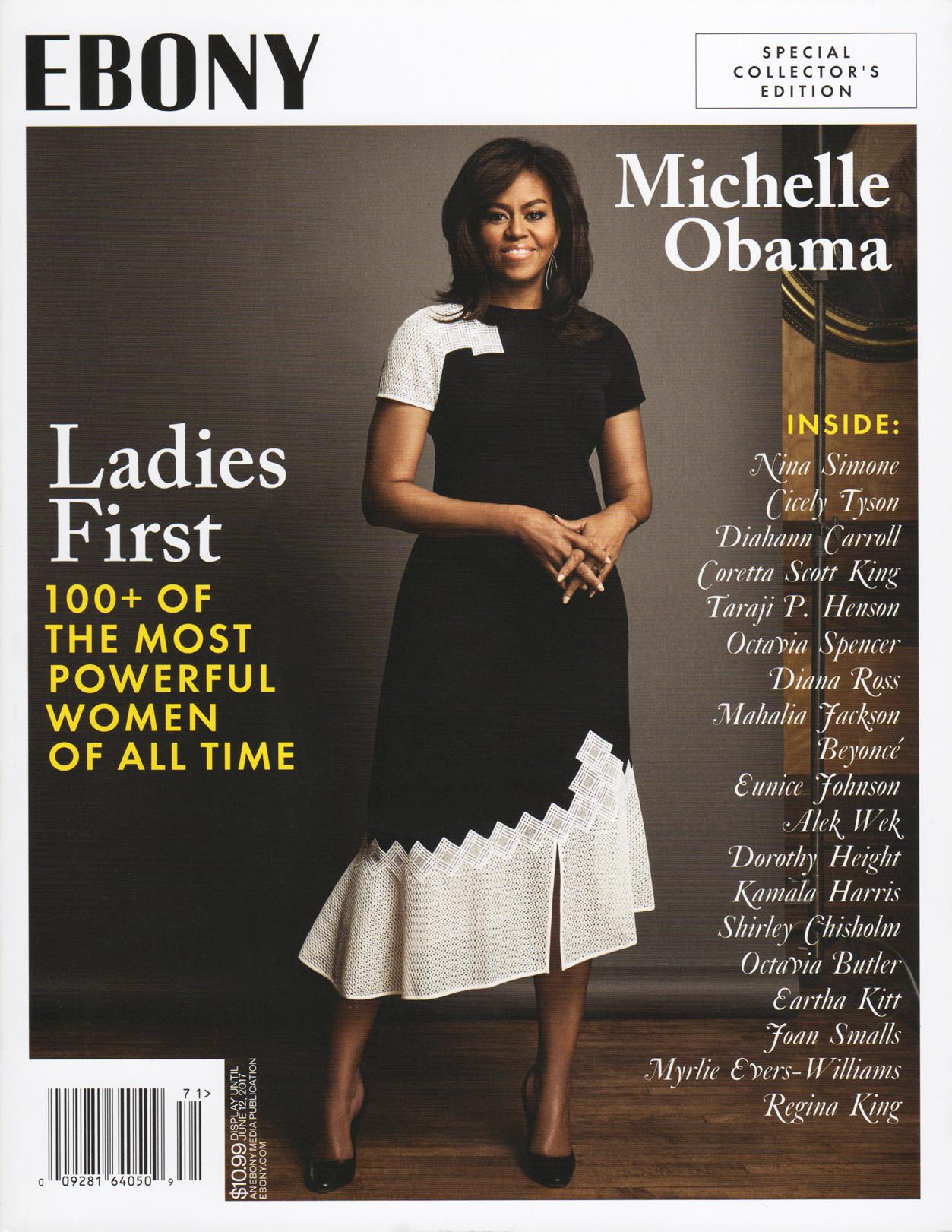 Ebony cover - 100+ Powerful Women